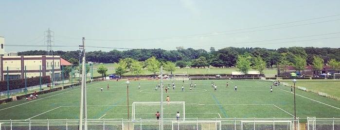 常総運動公園 is one of サイクリング.