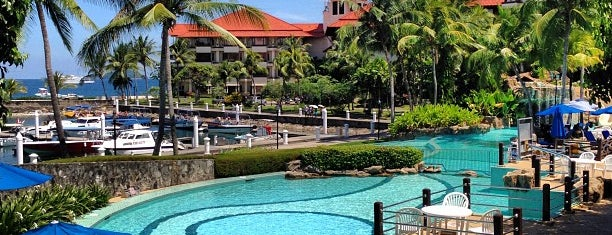 Sutera Harbour Marina & Country Club is one of Top 10 dinner spots in Kota Kinabalu, Malaysia.