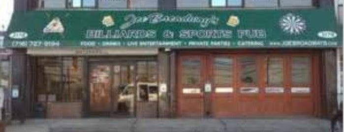 Joe Broadway's Billiards & Sports Pub is one of Bars in New York City to Watch NFL SUNDAY TICKET™.