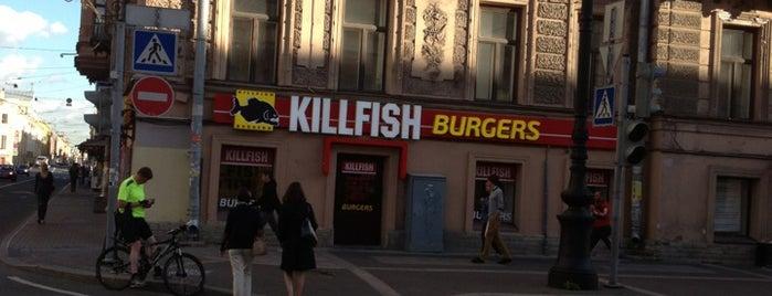 Killfish Burgers is one of Бургеры в Петербурге.