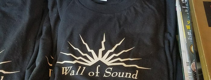Wall of Sound is one of Record Stores To Remember.