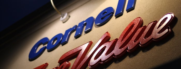 Cornell's True Value Hardware is one of home turf.