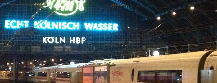 Köln Hauptbahnhof is one of DB ICE-Bahnhöfe.