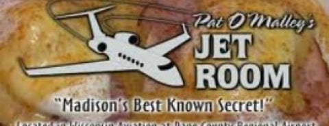 Pat O'Malley's Jet Room is one of Madison Restaurants.