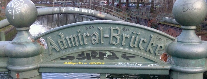 Admiral-Brücke is one of Berlin.