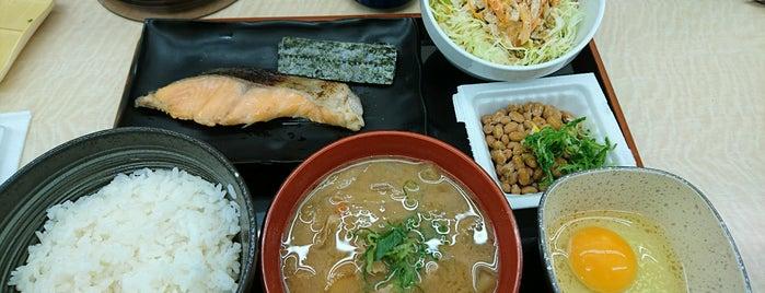 Yoshinoya is one of お食事処.