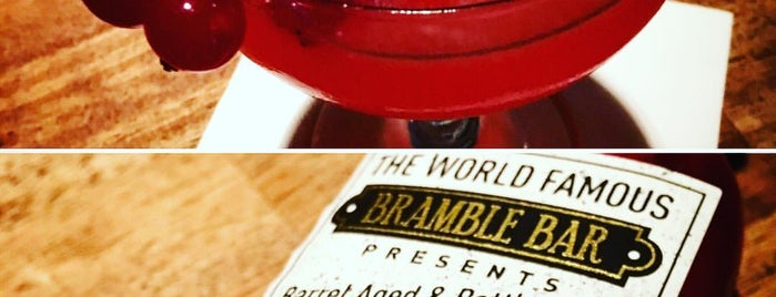 Bramble Bar is one of The World's 50 Best Bars.