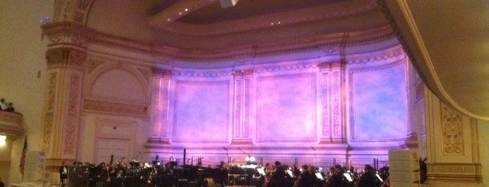 Carnegie Hall is one of USA Trip 2013 - New York.