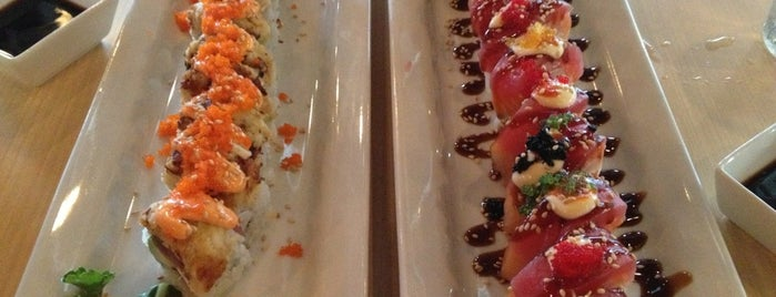 The Cowfish Sushi Burger Bar is one of Must-Visit Sushi Restaurants in RDU.