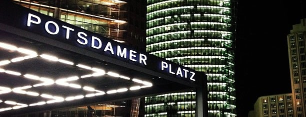 Potsdamer Platz is one of Berlin.