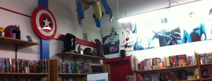 Amazing Fantasy is one of San Francisco comic shops.
