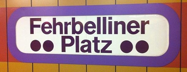 U Fehrbelliner Platz is one of U-Bahn Berlin.