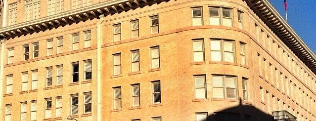 The Historic Crockett Hotel is one of My Trip to San Antonio.