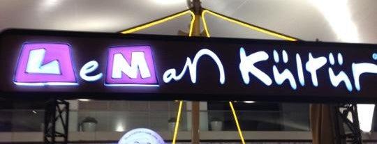 Leman Kültür is one of İzmir.