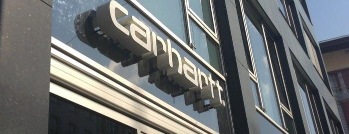 carhartt is one of Berlin.