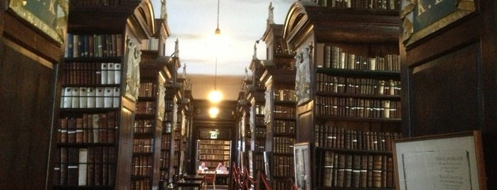 Marsh's Library is one of Dublin for Foodies.