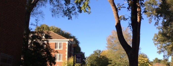 University of Central Arkansas is one of College Love - Which will we visit Fall 2012.