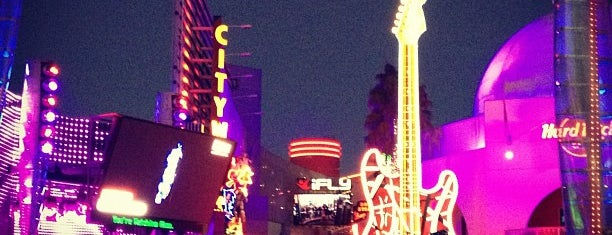 Universal CityWalk is one of I've been here.