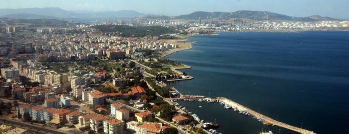 Aliağa is one of İzmir.