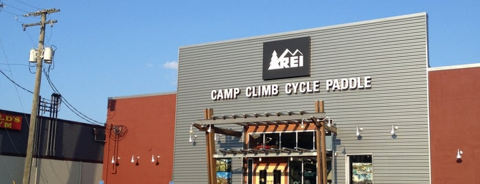 REI is one of Get me outdoors!.