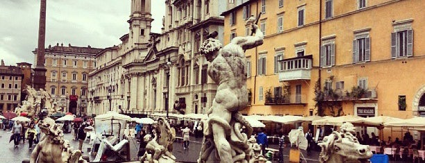 Piazza Navona is one of ♥Rome♥.