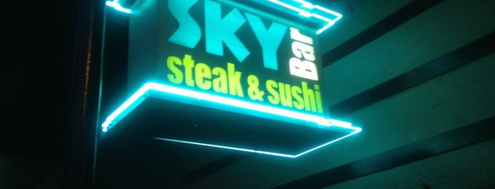 Sky Bar Steak & Sushi is one of The 15 Best Places with a Happy Hour in Galveston.