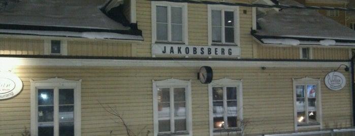 Jakobsberg (J) is one of SE - Sthlm - Pendeltåg.