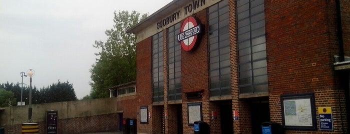 Sudbury Town London Underground Station is one of Tube Challenge.