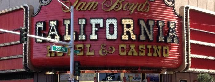 The California Hotel & Casino is one of CASINOS.