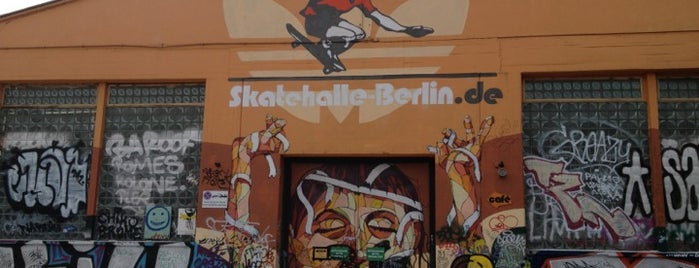 Skatehalle Berlin is one of Best sport places in Berlin.