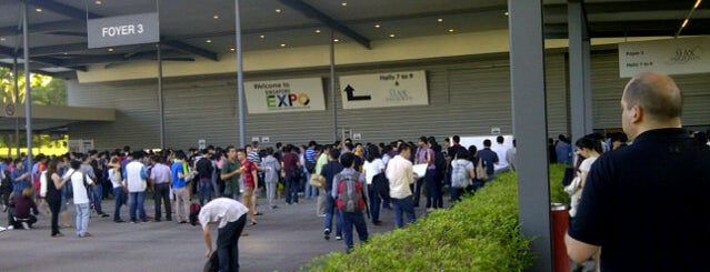 Singapore EXPO Hall 7 is one of Every Place I Went~.