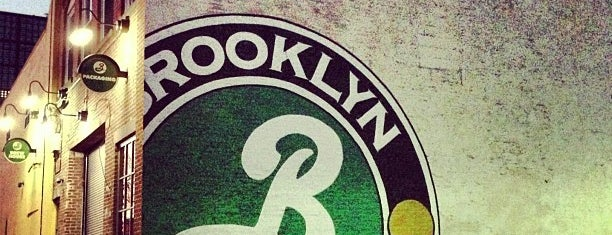 Brooklyn Brewery is one of Brooklyn.
