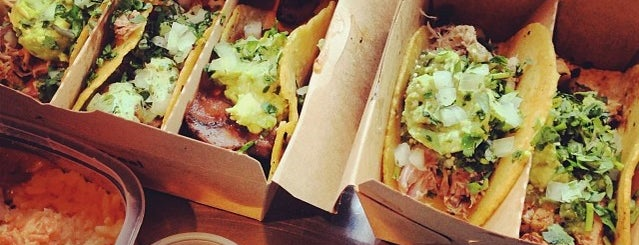 Otto's Tacos is one of Favoritos em New York.
