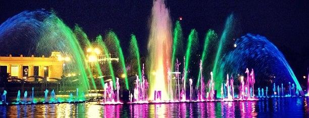 Танцующий фонтан is one of М..