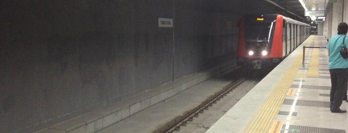 Turgut Özal Metro istasyonu is one of M3 - Metro İstasyonları.