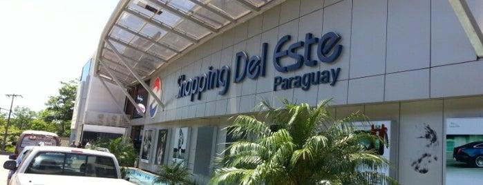 Shopping del Este is one of Foz do Iguaçu - PR.
