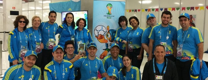 Fifa's Volunteers Centre - 2014 World Cup is one of #bethere.