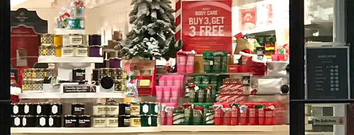 Bath & Body Works is one of places.