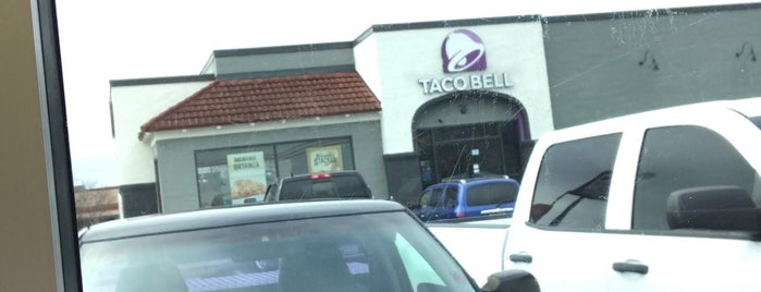 Taco Bell is one of places.