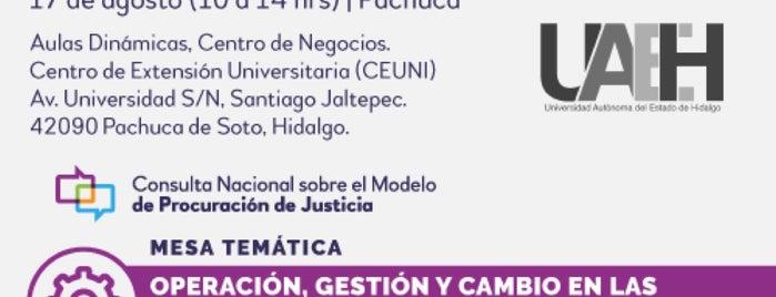 Centro de Negocios UAEH is one of Sitios 2016.