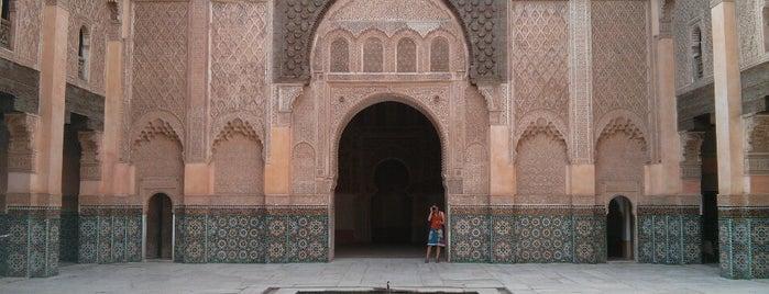 Medersa Ben Youssef is one of Marrakech.