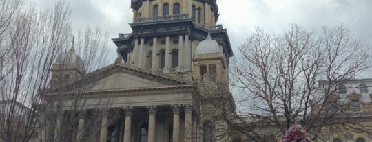 Illinois State Capitol is one of The Crowe Footsteps.