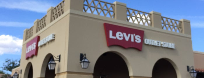 Levi's Outlet Store is one of Things that might be okay out here..
