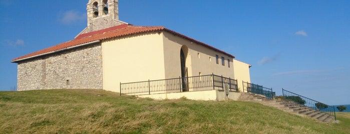 Virgen del Mar is one of Guía de Cantabria.