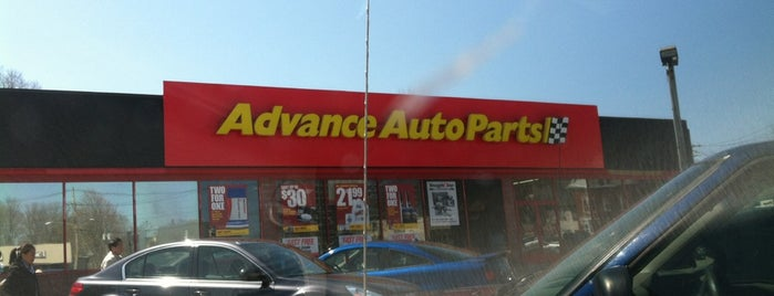 Advance Auto Parts is one of Mcclintoks ranch.