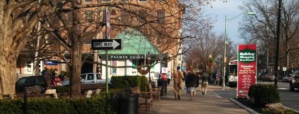 Princeton, NJ is one of Diane list.