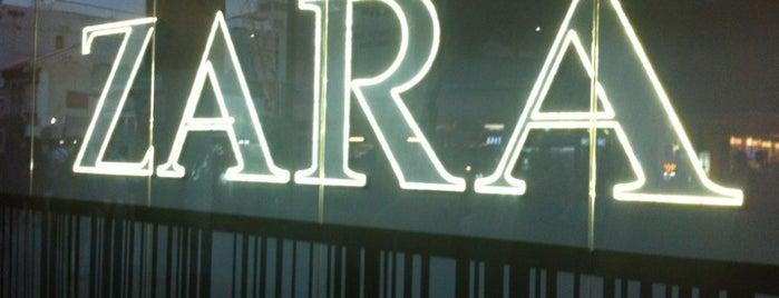 ZARA is one of singapore.