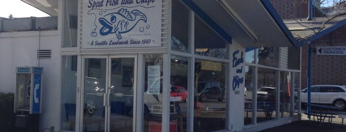 Spud Fish & Chips is one of Rob's Seattle best 10 under $10.