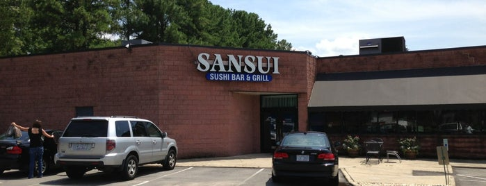 Sansui Sushi Bar & Grill is one of North Carolina To-Do.