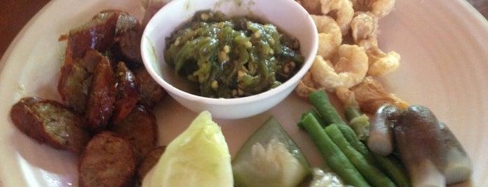 เม็ดข้าว อาหารพื้นเมือง is one of ลำพูน, ลำปาง, แพร่, น่าน, อุตรดิตถ์.